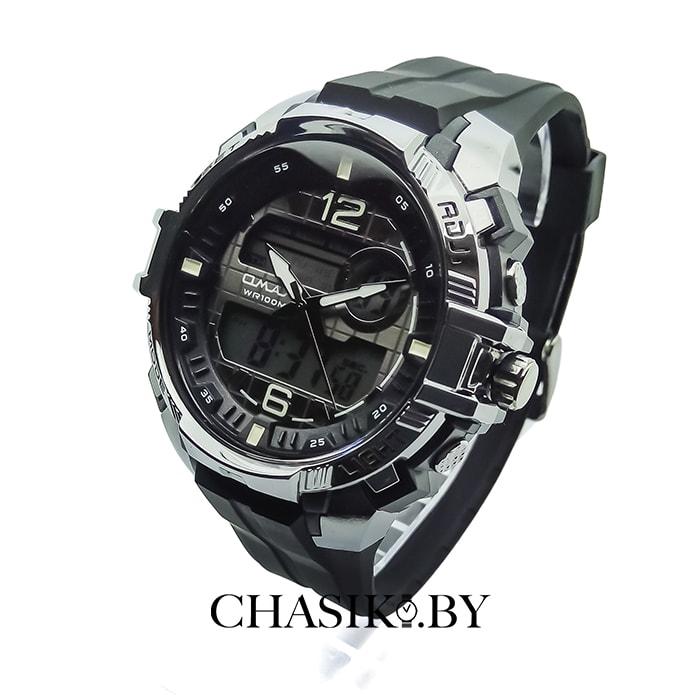 Мужские наручные спортивные часы Omax (AD1009BK)