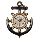 """Часы настенные в форме якоря """"Маяк"""" 3827-002"""